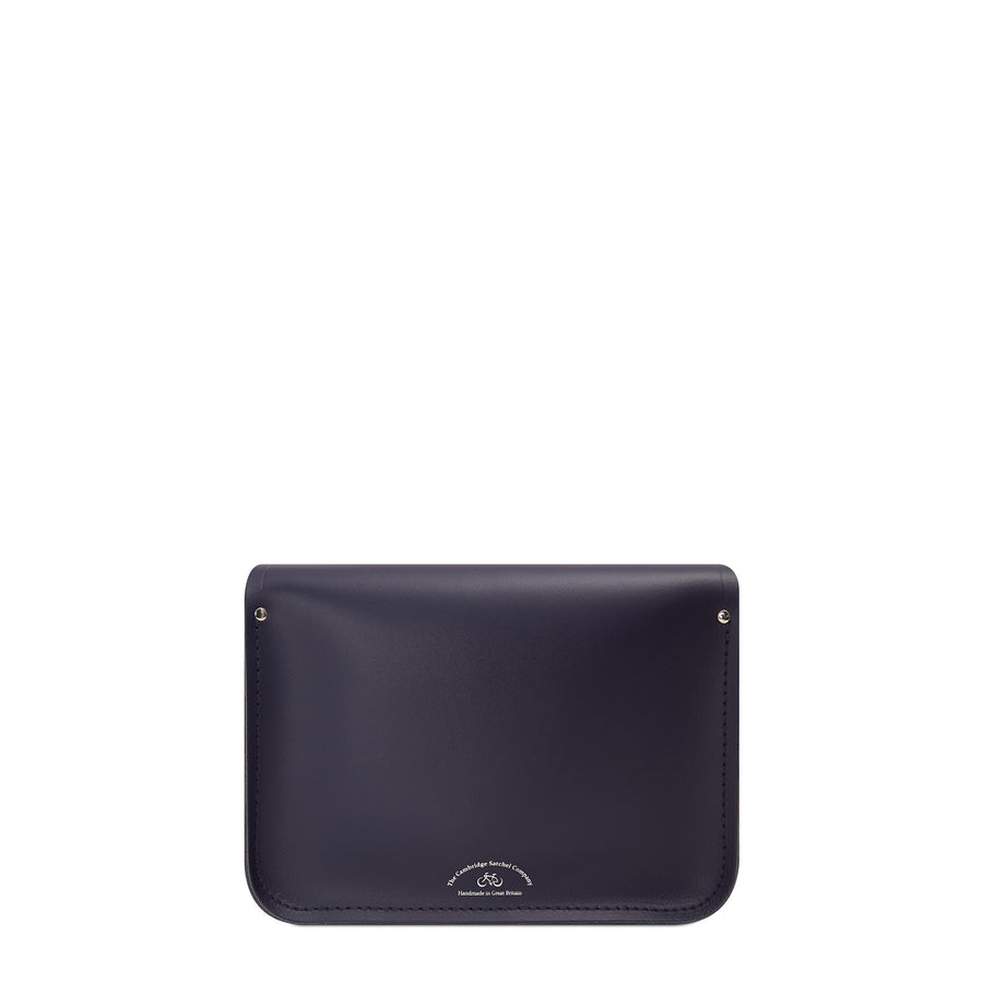 11 inch Magnetic Satchel in Leather - Eclipse Navy | Cambridge Satchel Company