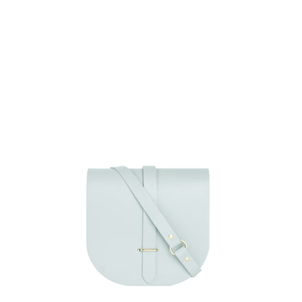 Saddle Bag in Leather - Seafoam Matte