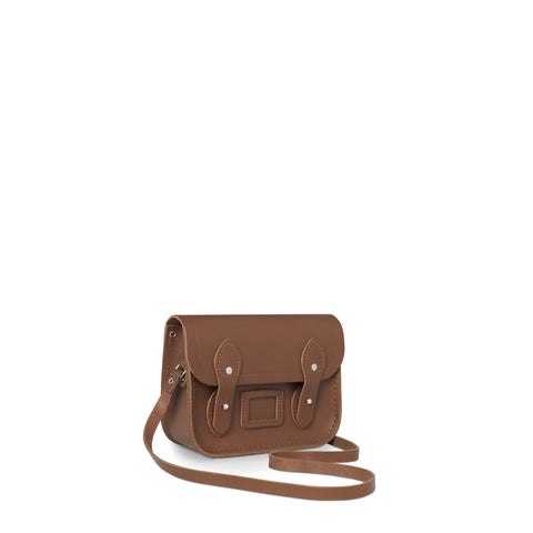 Tiny Satchel in Leather - Vintage