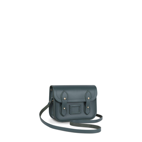 Tiny Satchel in Leather - Fir