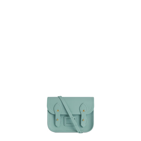 Tiny Satchel in Leather - Brilliant Sage Matte | Cambridge Satchel