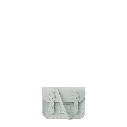Tiny Satchel in Leather - Stone