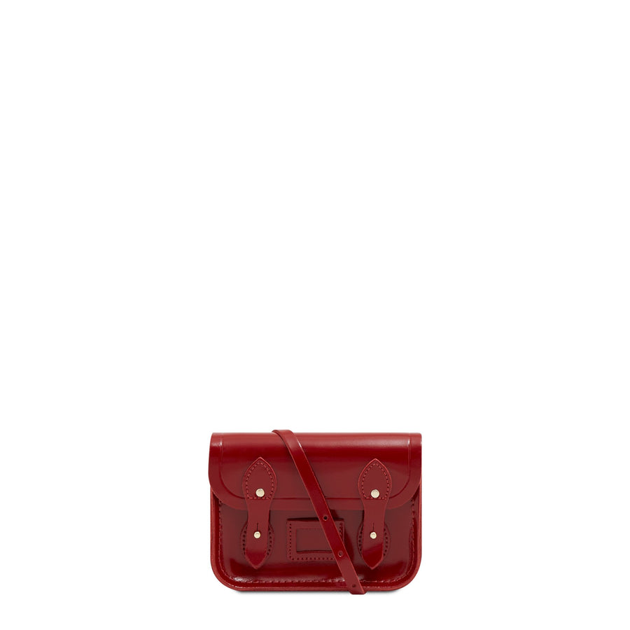Tiny Satchel in Leather - Glamour