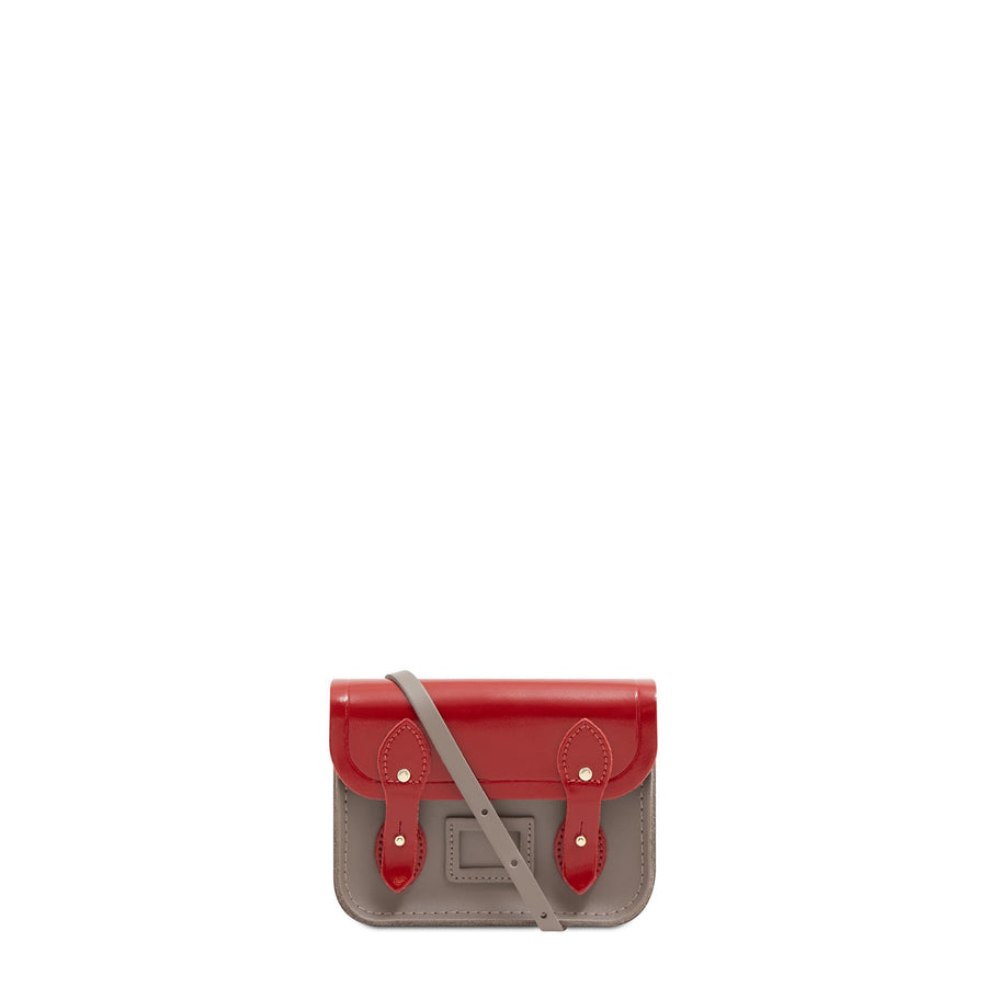 Tiny Satchel in Leather - Glamour & Mink | Women's Clutch Bag & Cross Body