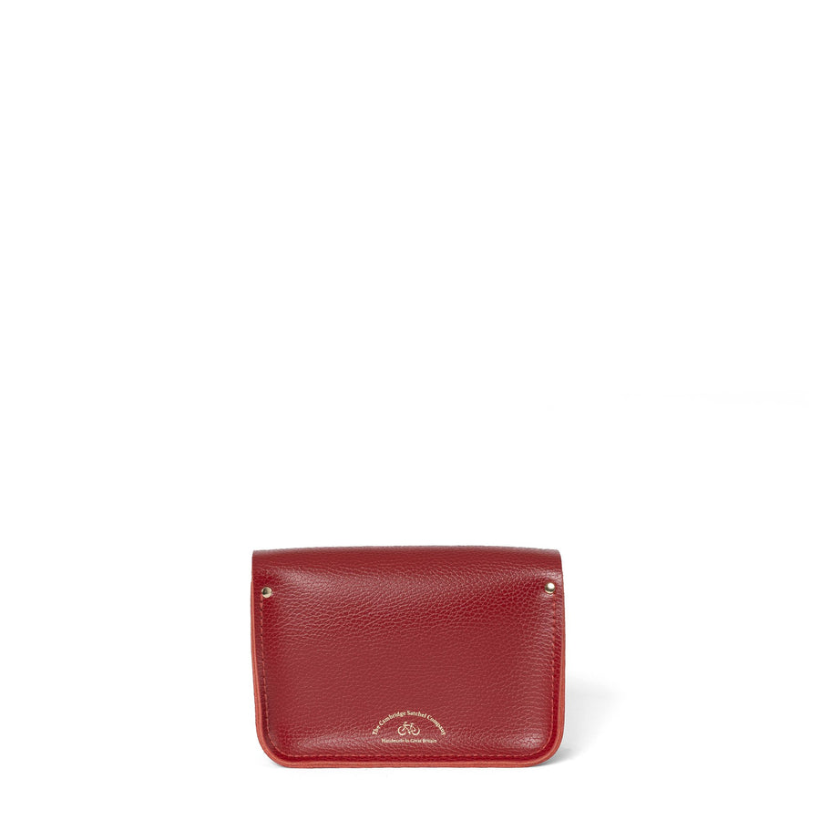 Year of the Ox Exclusive: The Little One in Leather - Pillar Box Red Celtic Grain