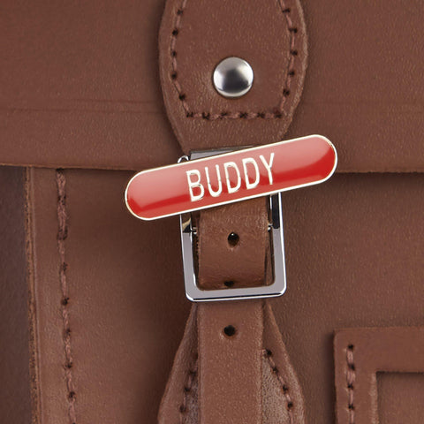 Buddy Badge - Red