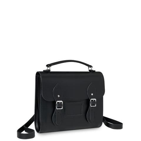 Barrel Backpack in Leather - Black