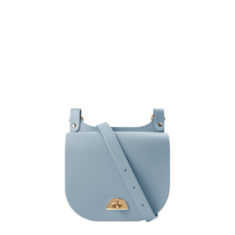Small Conductors Bag in Leather - French Grey