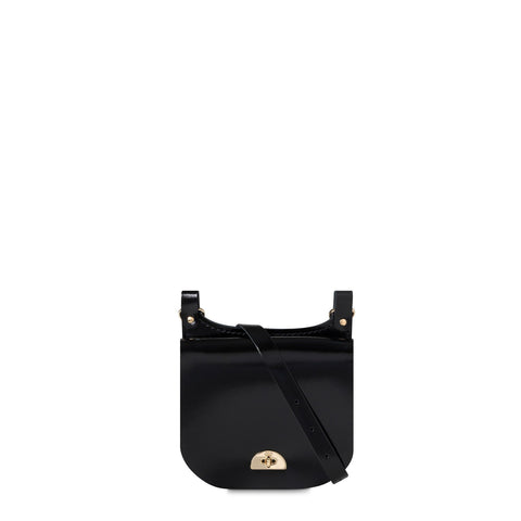 Small Conductors Bag in Patent Leather - Black Patent