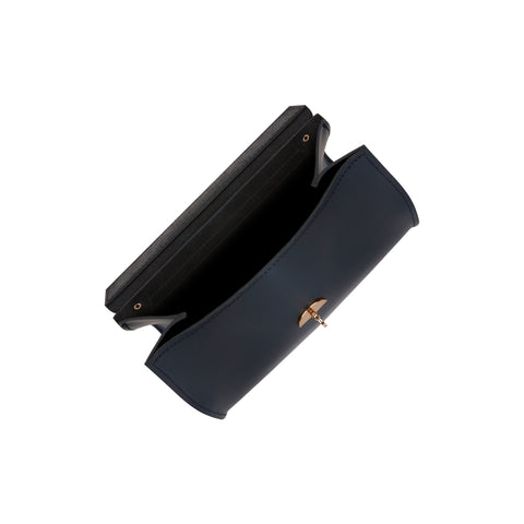 Daisy Bag in Leather - Navy