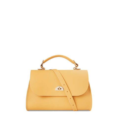 Daisy Bag in Leather - Indian Yellow