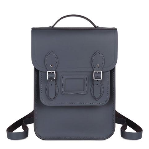Portrait Backpack in Leather - Dapple Matte