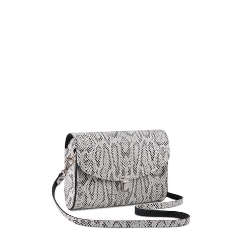 Push Lock in Leather - Python Print