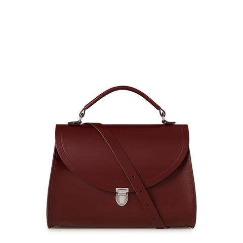 Poppy Bag in Leather - Oxblood