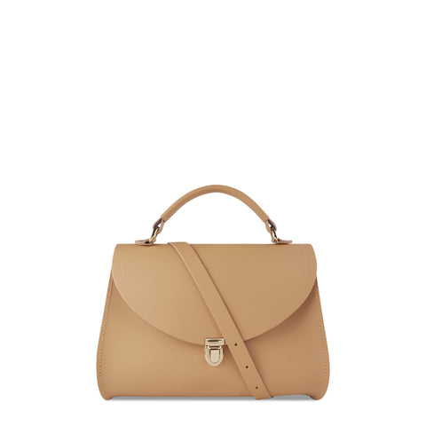Poppy Bag in Leather - Honey Matte