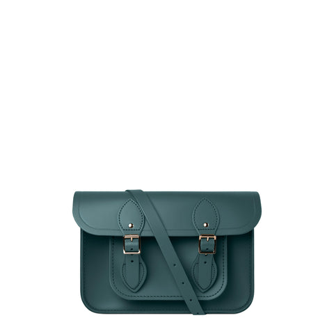 11 inch Magnetic Satchel in Leather - Fir