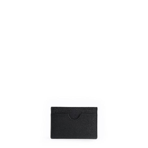 The Card Case - Black Saffiano