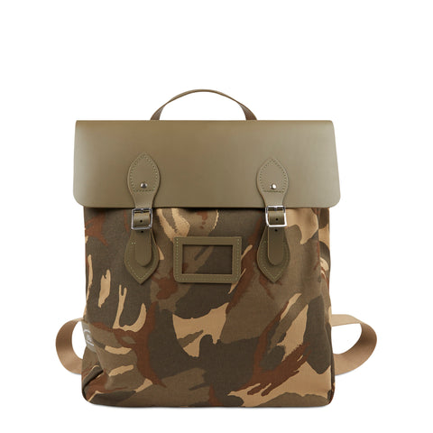 Canvas Steamer Backpack - Camo