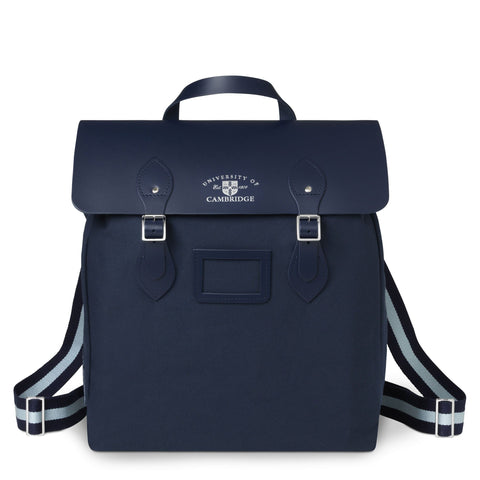 The University of Cambridge Steamer Backpack - Navy & Cambridge Blue