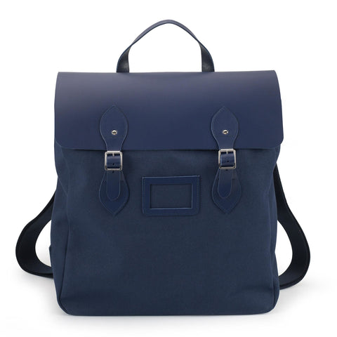 Canvas Steamer Backpack - Navy