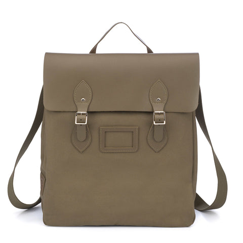 Canvas Steamer Backpack - Khaki
