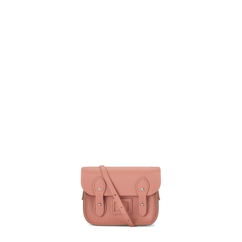 Tiny Satchel in Leather - Terracotta