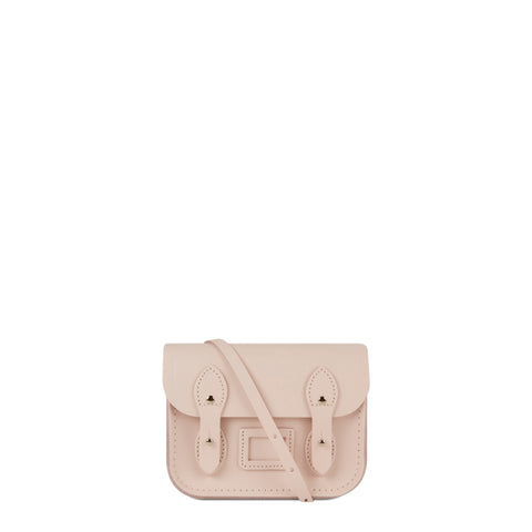 Tiny Satchel in Leather - Chalk