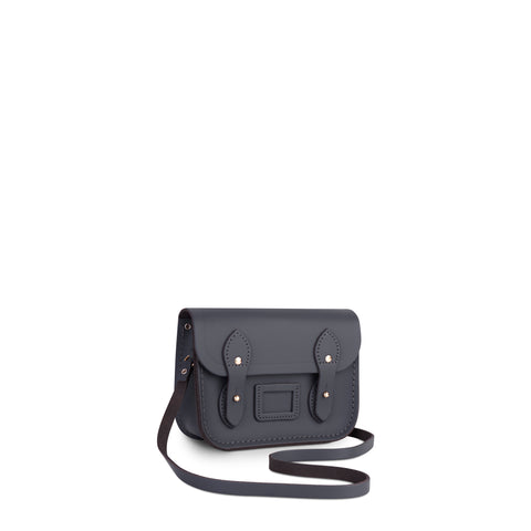 Tiny Satchel in Leather - Dapple Matte
