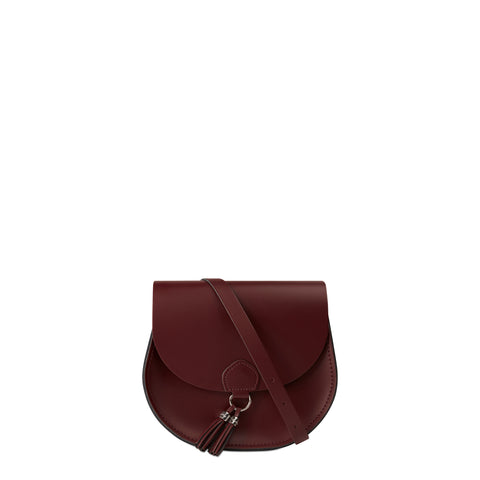 Tassel Bag in Leather - Oxblood