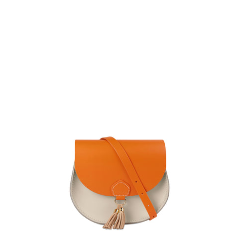 Tassel Bag in Leather - Sunset & Clay