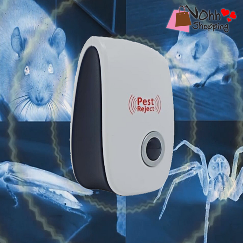 PEST CONTROL ULTRASONIC REPELLENT - BUY 1 GET 1 ( FREE SHIPPING NATIONWIDE ) - ohhshopping.com