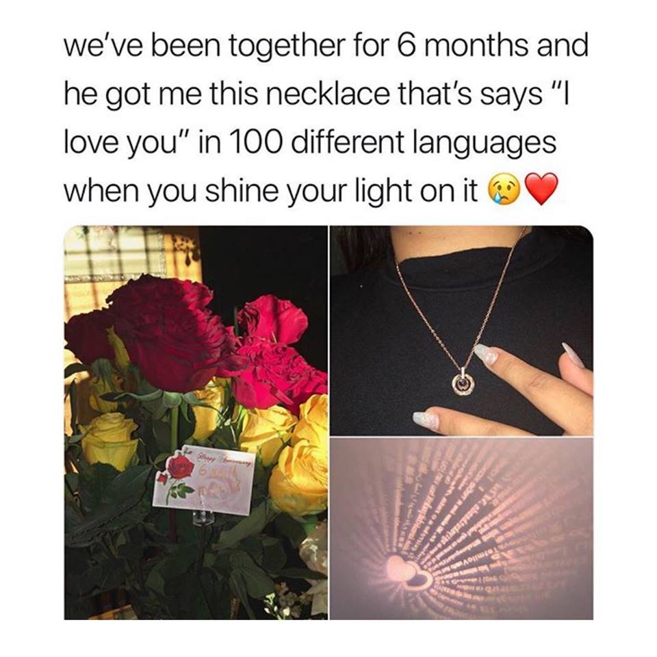 100 Languages I Love You Necklace-BEST SELLER - ohhshopping.com