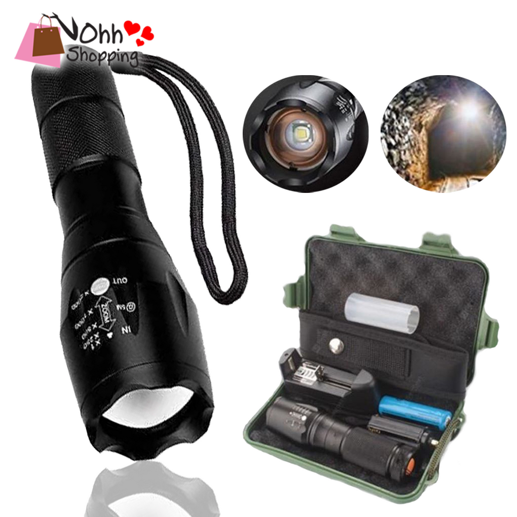 ( COMPLETE SET ) Taclight Tactical Flashlight - ohhshopping.com