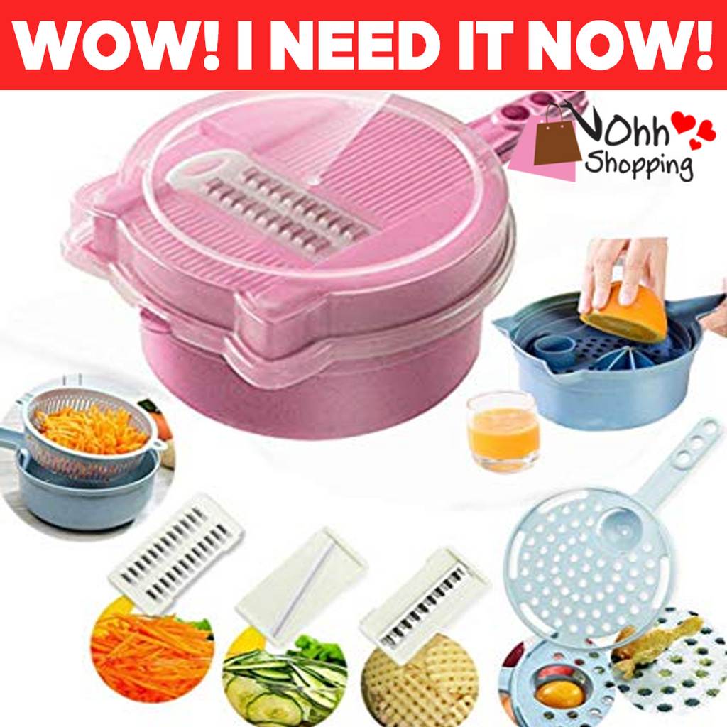 9-in-1 Multi-Function Easy Food Chopper - ohhshopping.com
