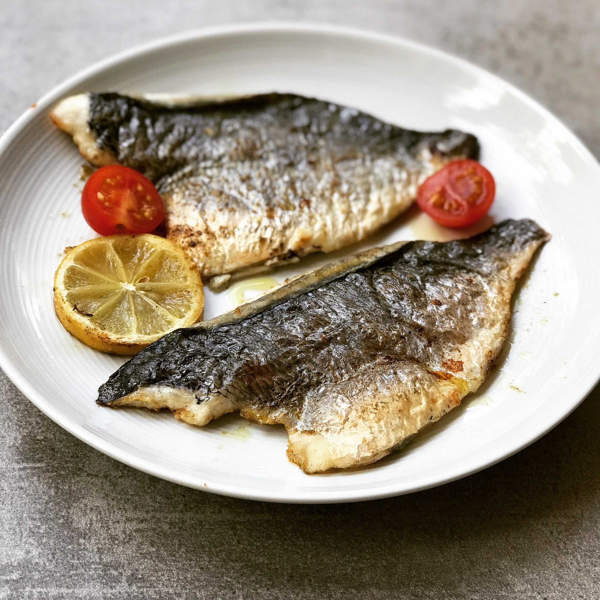 Sea Bream with Mediterranean Herbs Recipe