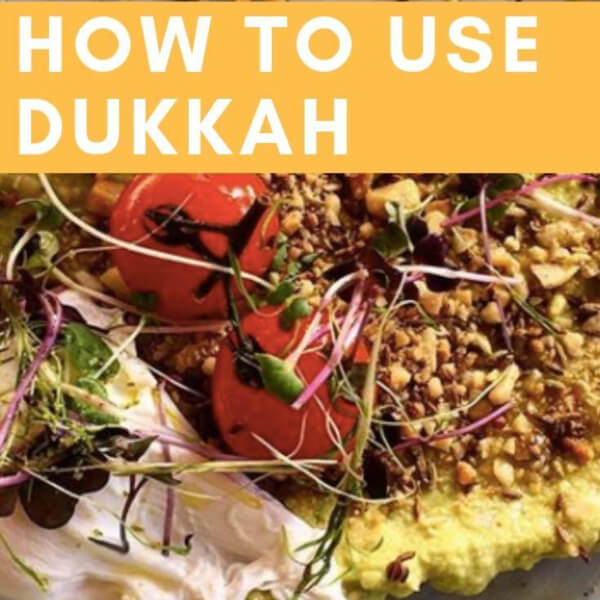 Dukkah Spice | Nut & Seed Blend | How to Use it