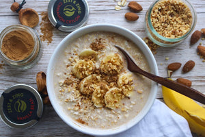 A Valentine's Treat: Easy Almond Milk Oatmeal with Spices