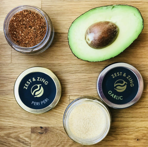 spicy avocado with peri peri - guacamole recipe