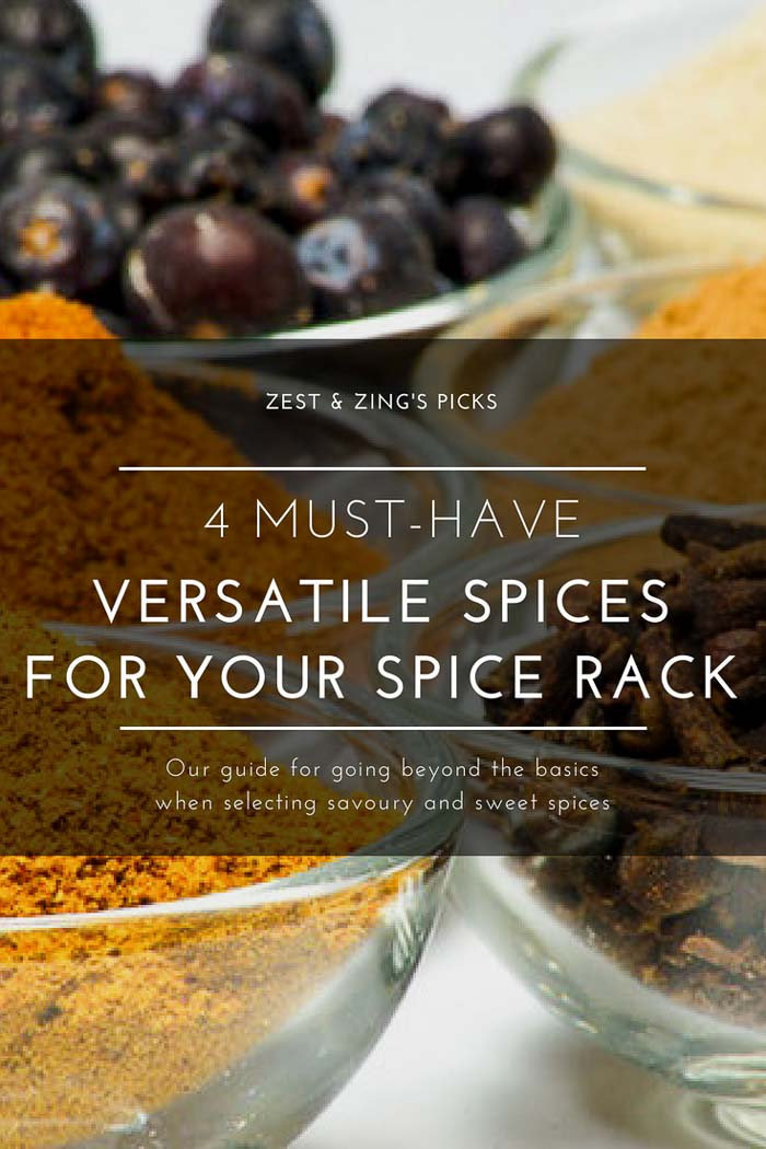 Must-Have Spices for Your Spice Rack - 4 of the Most Versatile Spices We Recommend