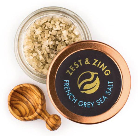 Sea Salt Health Benefits - Zest & Zing - Hawaiian Black Lava + Hawaiian Red Gold Salt
