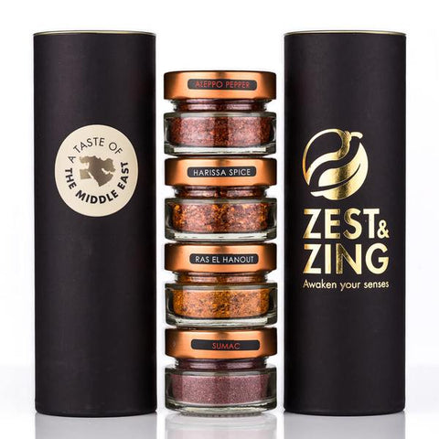 The Best Spice Gift Sets - Cooking Presents for Foodies - Zest & Zing - UK Premium Spices