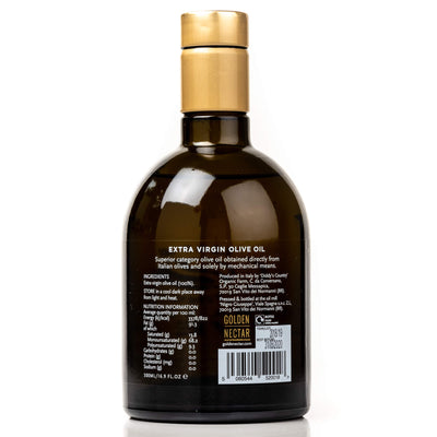 Back of Pack Olive Oil