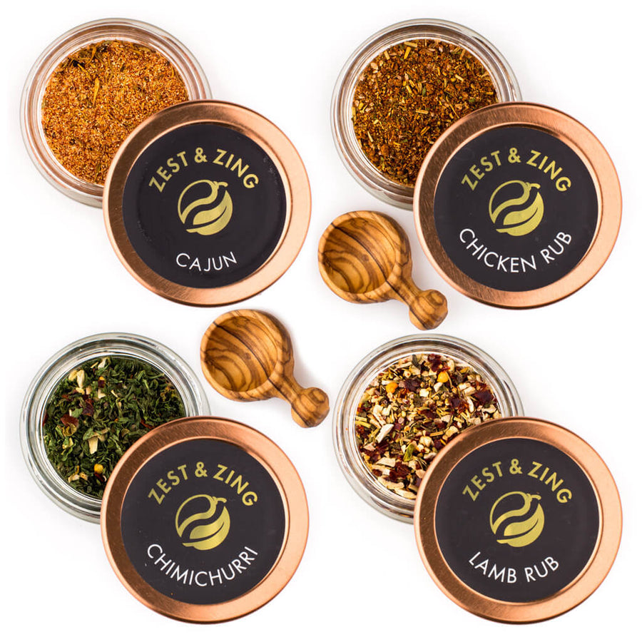 BARBECUE SPICE SET: A Taste of Barbecue