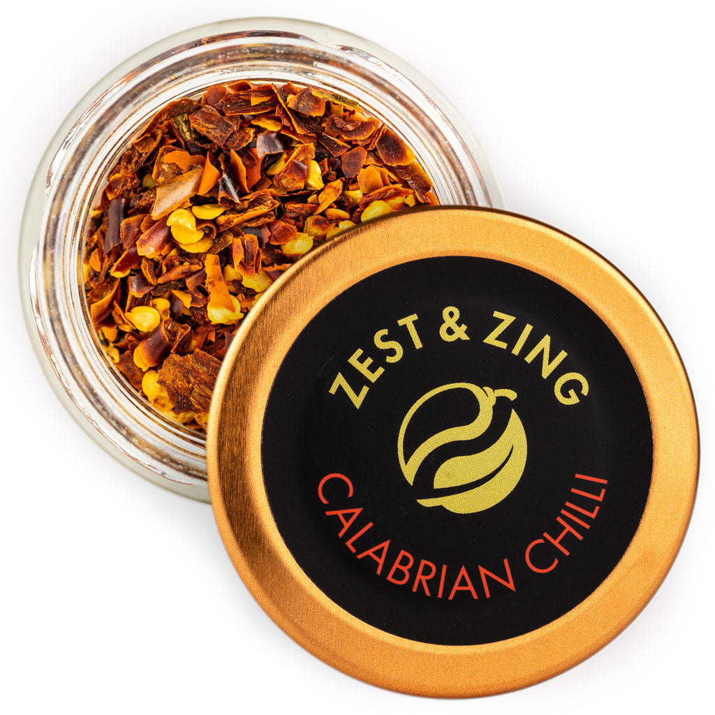 Organic Calabrian Chilli Flakes By Zest & Zing Spices