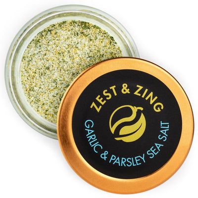 Zest and Zing Garlic & Parsley Sea Salt