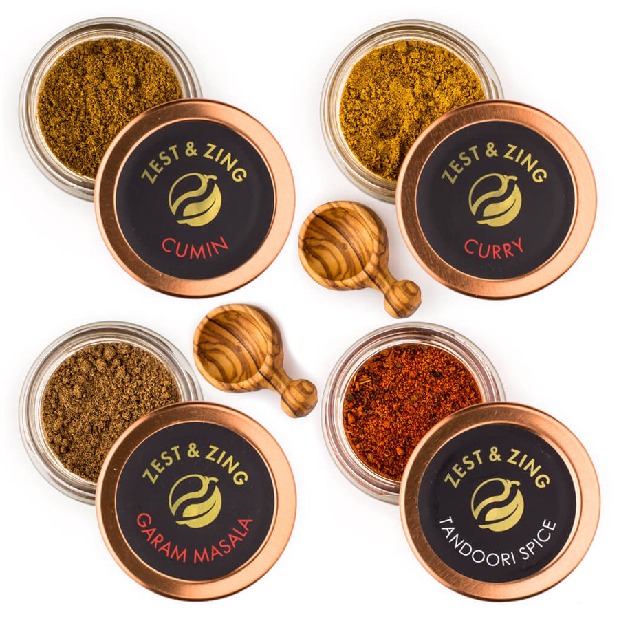 Indian Spice Gift Set | Unique Spices | Zest & Zing