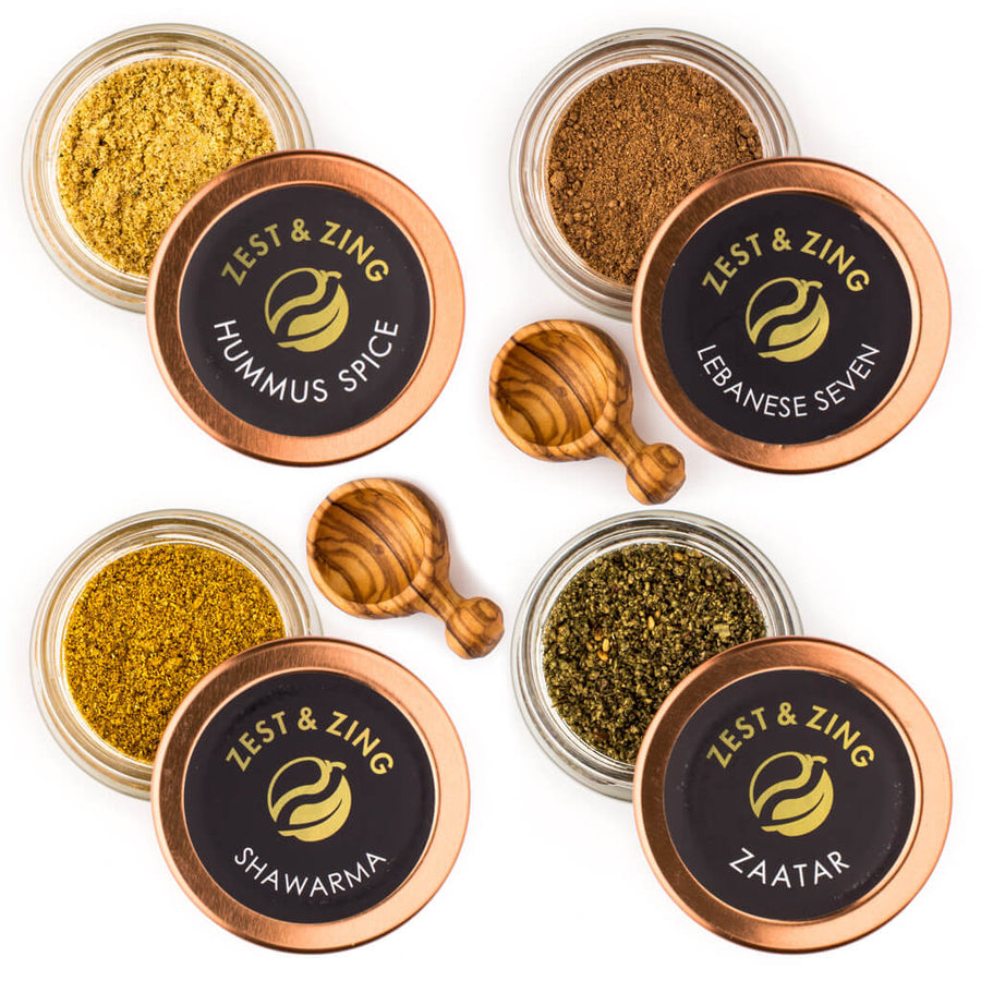 Lebanese 7 Spice | Zaatar | Gift Set | Zest and Zing
