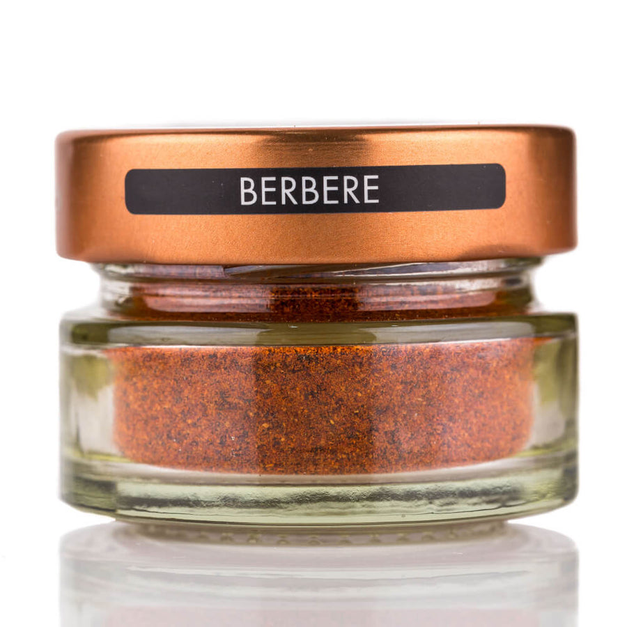 Berbere Spice jar and spoon