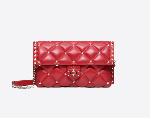 VALENTINO CANDYSTUD SHOULDER BAG