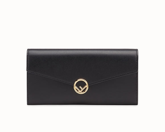 Fendi CONTINENTAL Leather Wallet